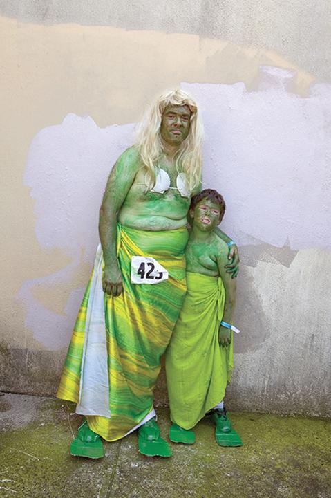 "Donald Lokuta -""Mermen, Coney Island 2012"" Chromogenic print"