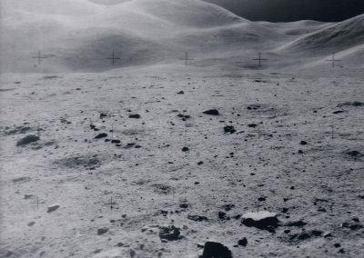 "From the private collection of Donald Lokuta – Apollo 15 – ""Photograph From a Panorama by Jim Irwin, Apollo Lunar Module Pilot"" – NASA AS15­90­12248"