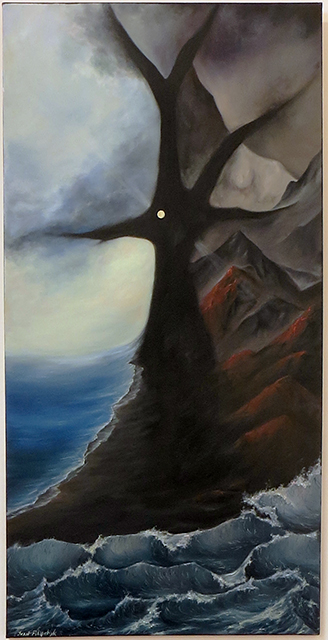 "Ivan Filipchyk – ""Chamber Symphony #2"" oil on canvas"