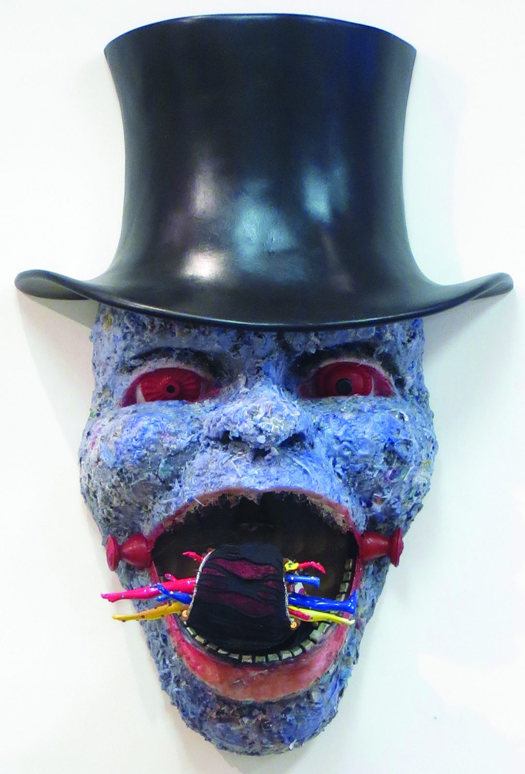 "Suprina ""Tipping Point- 4th Stage of Capitalism"" mixed media sculpture, $6,500.00"