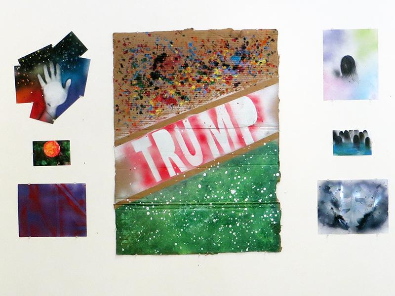 Ashley C. Rodriguez  – Installation of seven works
