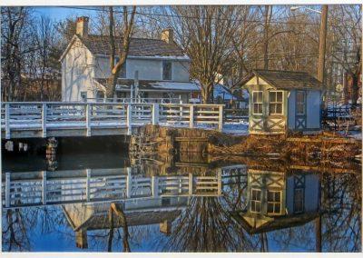 "Ted Settle  ""Griggstown – Bridge Tenders House"" photograph"