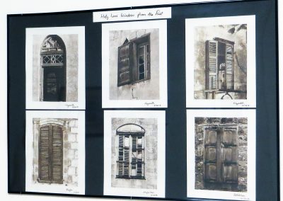 "Jane Settle  ""Holy Land Windows of the Past""  Van Dyke photographic process"