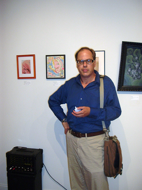 Richard at Cry Baby Gallery