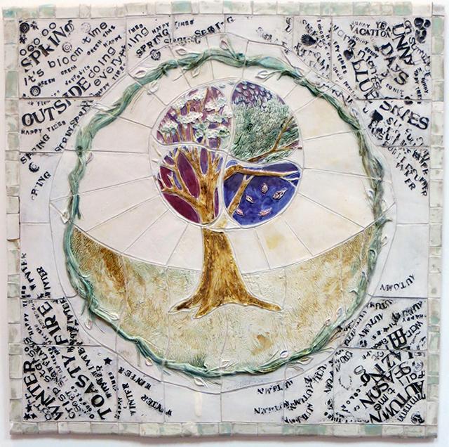 "Linda Vonderschmidt-LaStella ""Time Passing"" porcelain"