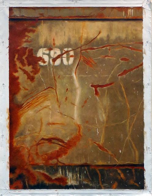 "John Folchi ""Dumpster section ""#12""  oil on canvas"