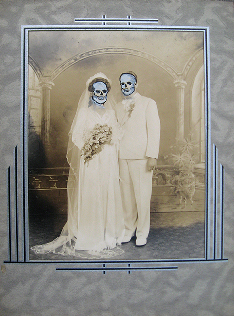 Skull Bride and Groom-1