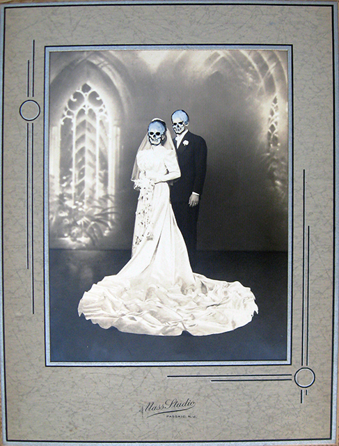Skull Bride and Groom-2