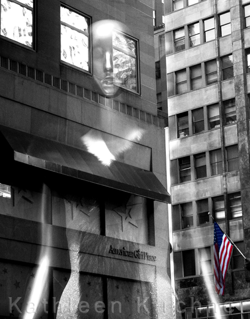 "Kathleen Kirchner    – ""Modern Myth 1""  digital photograph"
