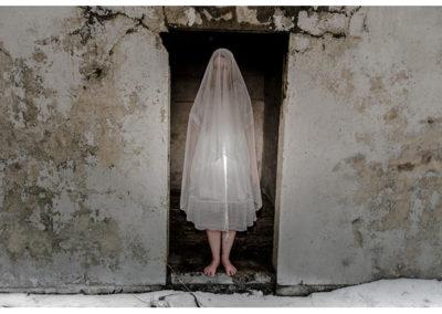 "Christine Anderson  – ""Concrete time warp (white) "" photography"