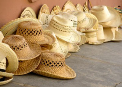 "Ellen Rebarber – ""Men's Hats, Cuba"" digital photo"