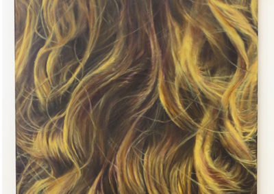 "Neil Besignano  –  ""Sarah's Hair"" oil on canvas"