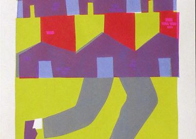 "James Heimer's ""Skate Rat"" 3-color screen print"