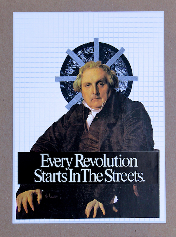 """Every Revolution Starts in the Streets""  by  Brad Terhune  -$125.00"