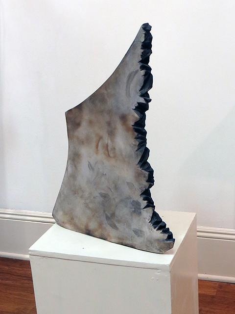 """Silent Sphinx""   ceramic by Ellen Rebarber – NFS"