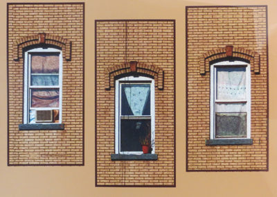 "Bill Bonner ""3 Windows"" enhanced digital photograph"
