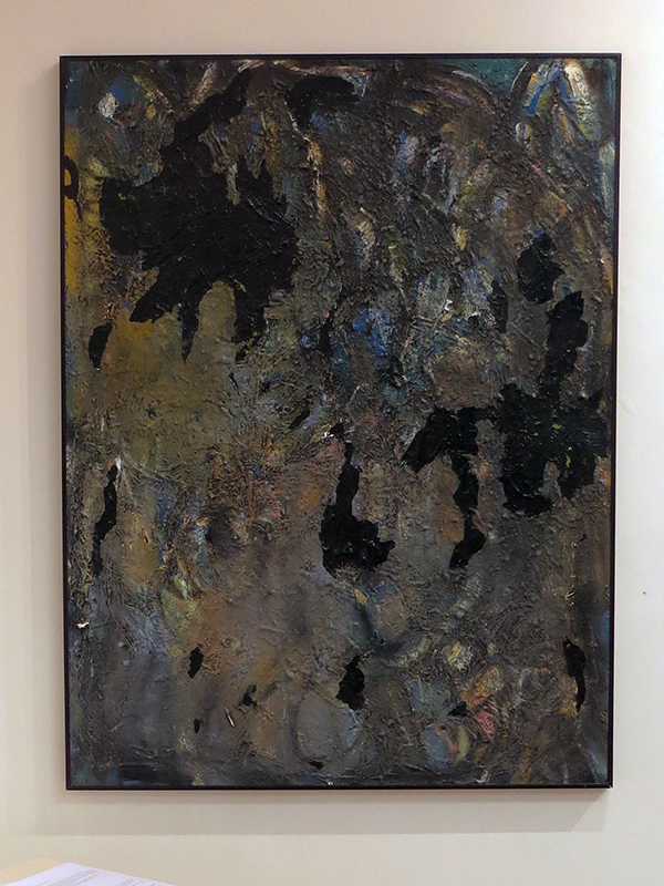 "Rita Herzfeld  ""Long Gone"" acrylic and enamel on canvas"