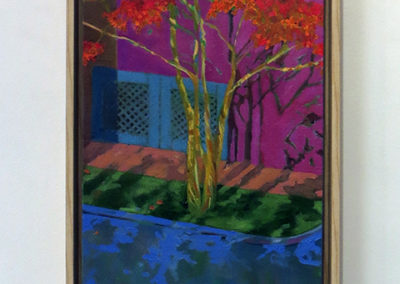 "Carol Cassel Baker  – ""Autumn Crepe Myrtle"""