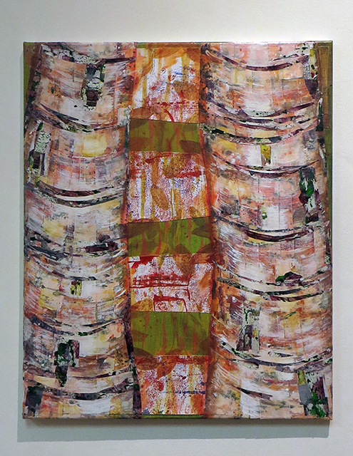 "Joyce Chen -""Tree Collage I"""