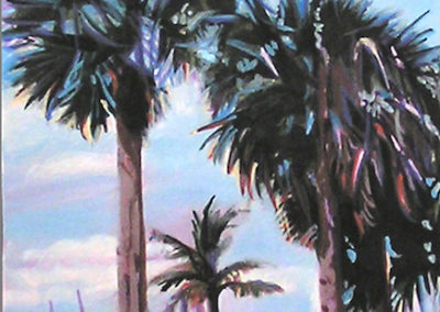 "Maria Mijares ""Under Protection (Pom Palms)"""