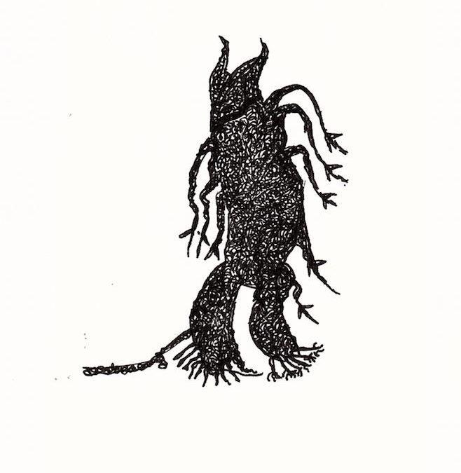 "Mark Wilkie ""Walking Tree"""