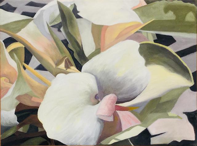 """""""San Miguel de Allende #1"""" oil on canvas, 24""""H x 30"""" W, $2,000.00"""