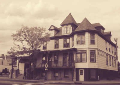 "Ruth Ann Seyffart ""Bound Brook Hotel (The Later Days)"" photograph"
