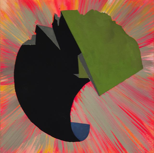 "Joe Bliss ""Eclipse 2"" gauche and vinyl"