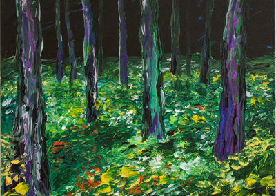 "Wayne Freitag ""Make a Path"" acrylic on canvas"