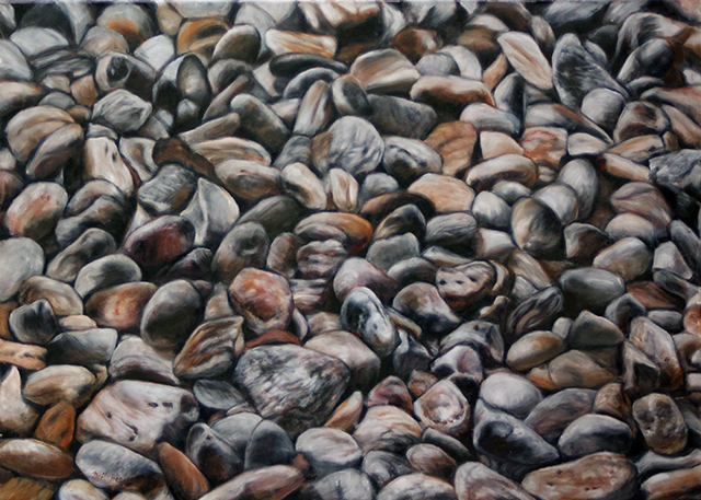 "Neil Besignano ""Somewhere in Colorado"" oil on canvas"