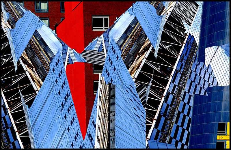 """Irene Riegner  """"Before Glass: Brick and Mortar Buildings"""" photography, 13"""" X 19"""", 2019"""