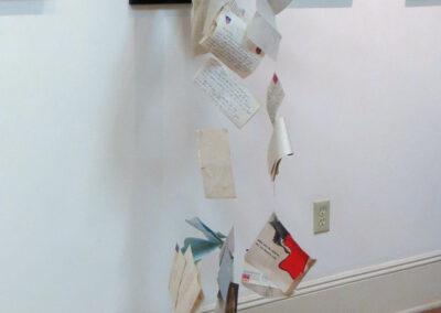 "Ellen Rebarber  ""Courtship by US Mail"", Wall Sculpture Installation, NFS"