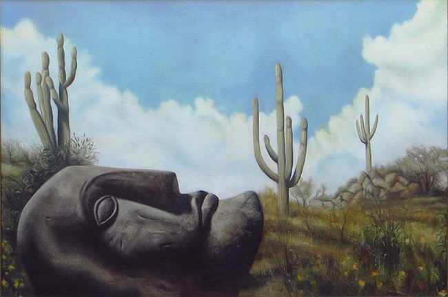Dream a Dry Place – oil on canvas 30″ x 40″