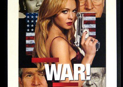 "Luis Alves Collage  ""War"" hand made collage, $650.00"