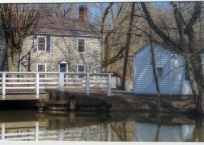 "Ted Settle  ""Zaraphath"" – Bridge Tenders House"" photograph"