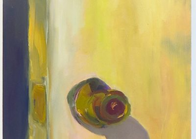 "Sharon Paster ""Door""  oil on canvas"