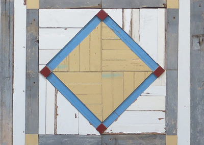 "Laura Petrovich-Cheney ""Center Stage"" salvaged wood form Hurricane Sandy, $3,000.00"