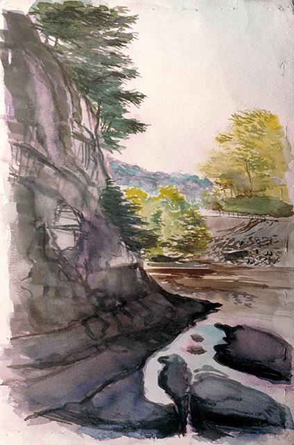 Ravine near Tannersville on Rt.23