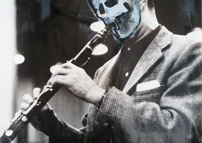 Skull Clarinetist