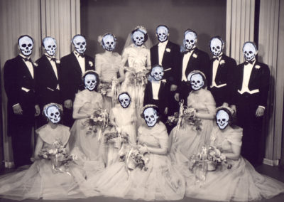 Skull Family Wedding Pictures