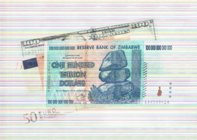 "Donald Lokuta   ""Fiat Currency""  archival pigment print, photo,  $1,000.00 (unframed) $1,200.00 (framed)"