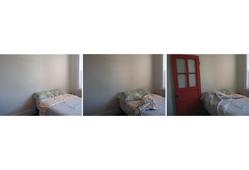 "Taryn Pizza ""Untitled 4 (The Red Door)"" digital photo, $140.00"