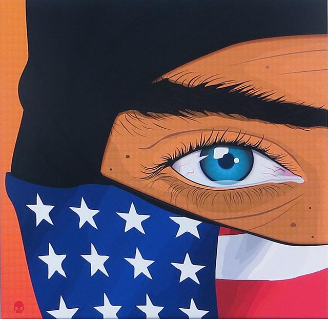 """Paul Smith  """"I Am"""" giclee print on canvas, $400.00"""