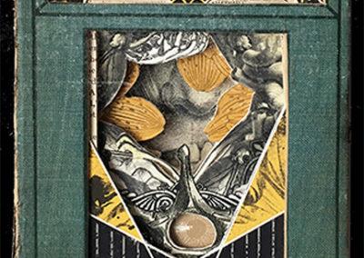 """""""Secret History"""", book sculpture – by Alex Eckman-Lawn"""