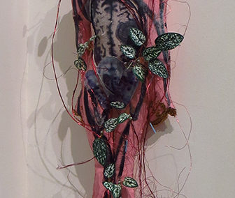 "Maria Lupo   – ""Healing Woman""  mixed media"