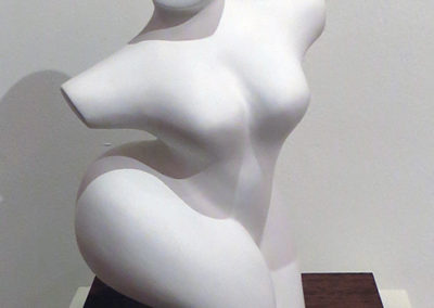 "Alison Hooper  – ""Lady"" plaster sculpture"
