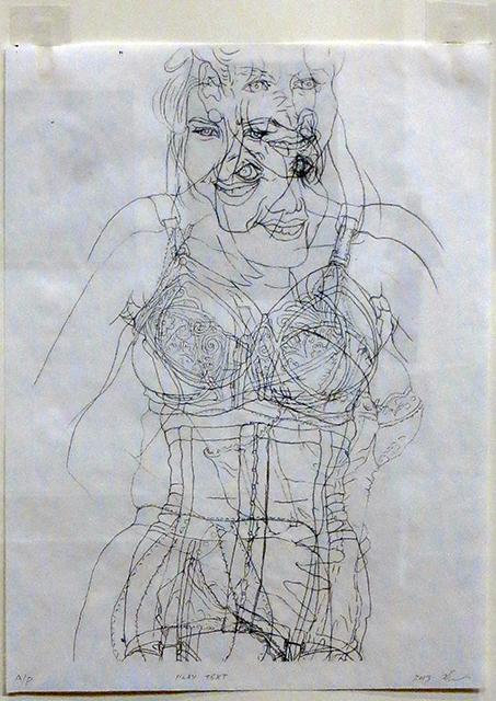 """Peter Arakawa  – """"Playtex"""" pc print"""