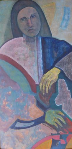 """Renee Samuels  – """"Madonna of the Hands"""