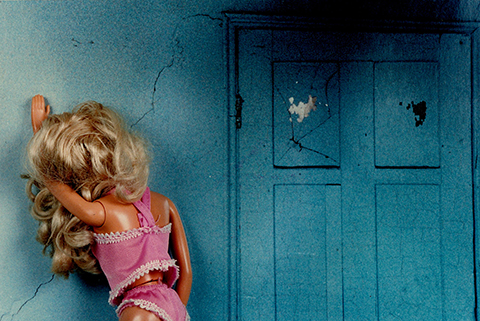 "Susan Evans Grove  – ""Distressed Barbie"" C print"