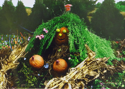 "Vince DiOrio –  ""The Gourd Family Series – The Story of Life"" black and white prints colored in photoshop"